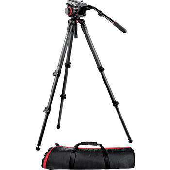 Rent Manfrotto 504HD Head w/535 2-Stage Carbon Fiber Tripod System