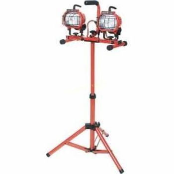 Rent Dual work lights w/tripod