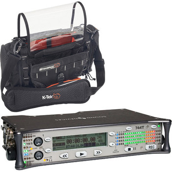 Rent Sound Devices  744T sound recorder | 2 Sennheiser wireless lav mics (G4 & G3).  AT 4073a Shotgun Mic/Boom Pole