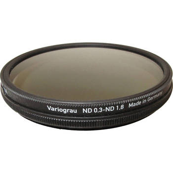 Rent Heliopan 77MM Variable (1 to 6 stops) Gray ND Neutral Density Filter