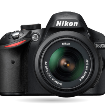 Rent Nikon D3200 DSLR Entry-Level Photo & Video Camera