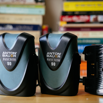 Rent 2 Anton Bauer Digital 90 batteries and charger