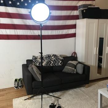 Rent Dracast 600 Bi-Color LED Round Light