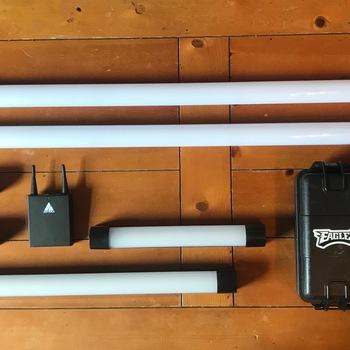 Rent Astera AX1 & Quasar Q-LION, Battery Powered LED Lighting Kit