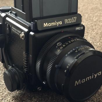 Rent Mamiya RZ67 Professional Pro II Medium Format SLR