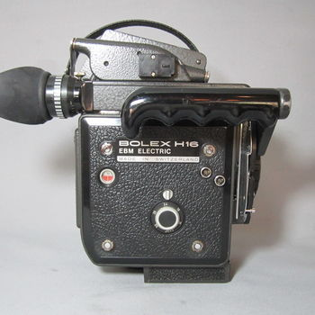 Rent Bolex H16 Kit BATTERY POWERED 16X9 Super 16mm Bolex w/Switar Lens Kit