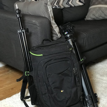 Rent Good sized DSLR Backpack Camera by Case Logic