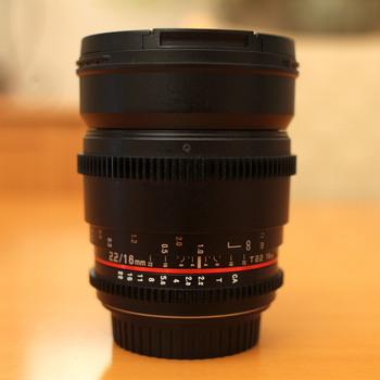 Rent Rokinon Cine CV16-C 16mm T2.2 (Canon)