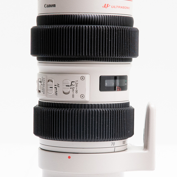 Rent Canon L series 70-200 IS f 2.8 w/ gear rings and 80mm front