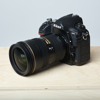 Rent Camera Nikon D850 full frame with 24-70mm lens