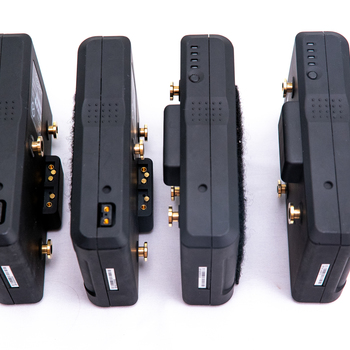 Rent 4x 75Wh Gold Mount Batteries w/ Quad Charger