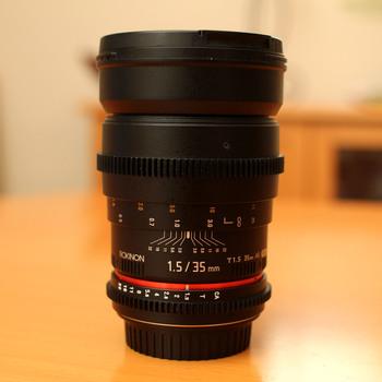 Rent Rokinon Cine CV35-C 35mm T1.5 (Canon)