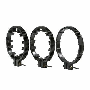 Rent Movo FR3 Adjustable 3-Piece Follow Focus Ring Gear