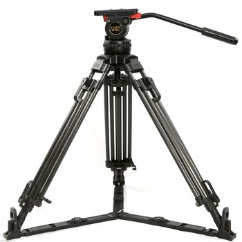 Rent Teris V12T Carbon Fiber 100mm Fluid Head Video Tripod