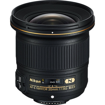 Rent Nikkor 20mm f/1.8 G ED Lens