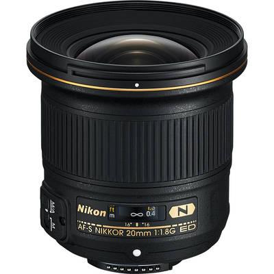 Nikon 20mm f 1 8g fx lens 1082607