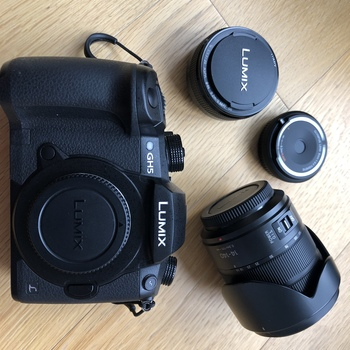 Rent LUMIX GH5 with 2 LUMIX Lenses (14-140mm & 20mm)