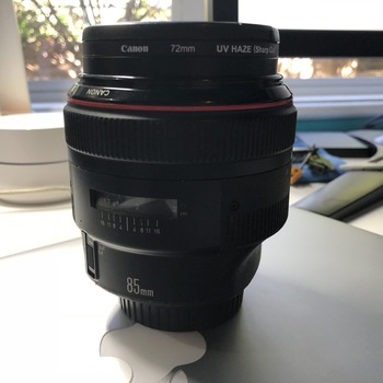 Rent Canon 85mm f1.2 L Series Beautiful Prime Lens