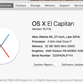 "Rent iMac Retina5K 27"" for Editorial w. Avid, FCPX, Adobe Premier"