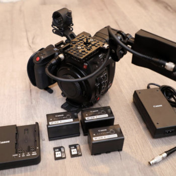 Rent Canon EOS C200 — Basic Body Kit w/ Extra Batteries!