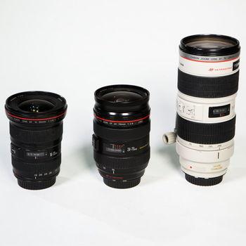 Rent Canon L Series Zoom Set 16-35ii, 24-70ii, 70-200ii f/2.8 USM