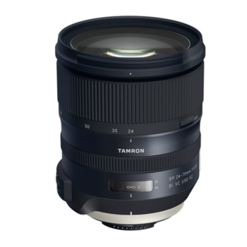 Rent Pristine, Brand New Tamron SP 24-70mm f/2.8 Di VC USD G2 Lens for Nikon DSLRs