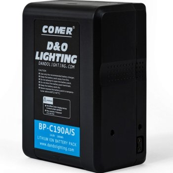 Rent 2x V-Mount Batteries (190Wh) with Charger