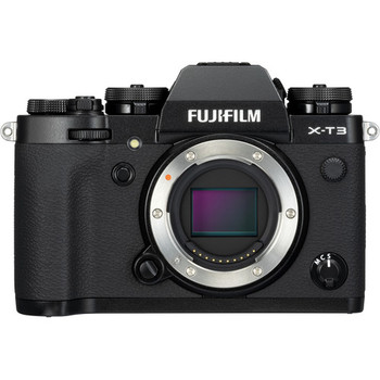 Rent Fuji X-T3 Mirrorless Camera Body with 2 Batteries and 2 64 GB SanDisk ExtremePro SD Cards