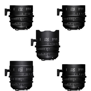 Rent High Speed Sigma FF Prime Lens Kit