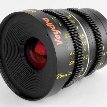 Rent Veydra 25mm T2.2 Mini Prime Lens