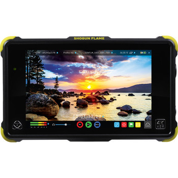 Rent Atomos Shogun Flame Kit. Mount, 500GB SSD, batteries and chargers!
