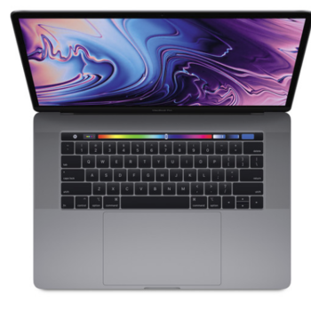 "Rent Apple 15.4"" MacBook Pro with Touch Bar (Mid 2018, Space Gray)"
