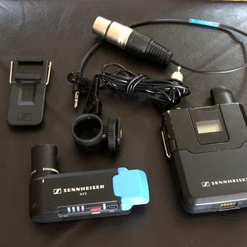 Rent Sennheiser AVX Camera-Mountable Lavalier Digital Wireless Set (ME2 Lavalier)