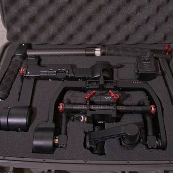 Rent DJI Ronin-M 3-Axis Handheld Gimbal Stabilizer + Case