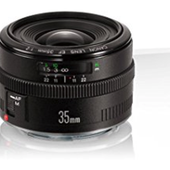 Rent Canon EF 35mm f/2 Wide Angle Auto Focus Lens (Non IS)