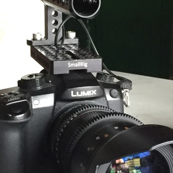 Rent Panasonic Lumix Gh5 with Metabones and Rokinon 35mm lens, 50mm cine lens