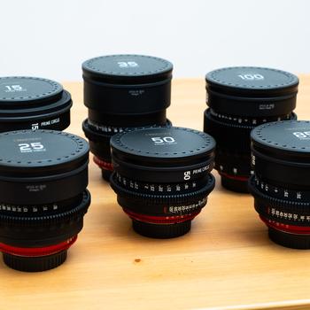 Rent Zeiss Cinema Lens Kit 15, 25, 35, 50, 85, 100