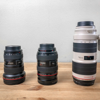 Rent Canon L-Series 3 Lens Kit - EF f2.8 - 16-35mm II | 24-70mm | 70-200mm II IS