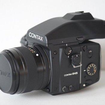 Rent Contax 645 Medium Format Camera with 120mm Film Back