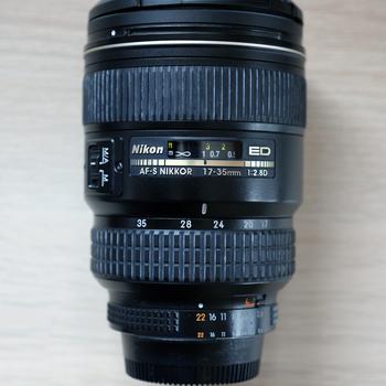 Rent Nikon 17-35mm f2.8 (Full Frame)