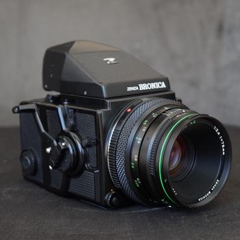 Rent Bronica ETRSi medium format film camera