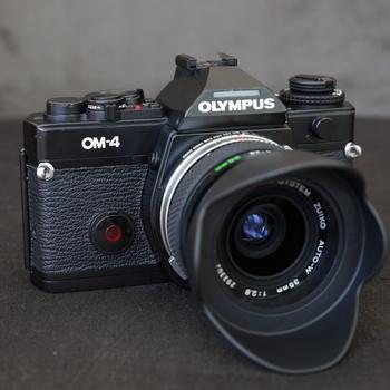 Rent Olympus OM 4 film camera with lenses