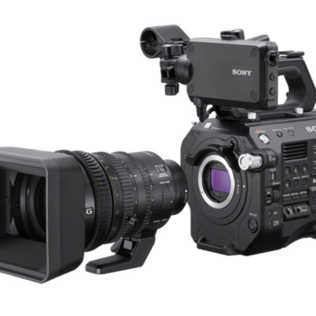 Rent Sony FS7 Mark II with metabones