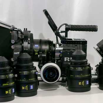 Rent Red Epic Dragon 6k Package + Zeiss Supreme Primes Set of 5
