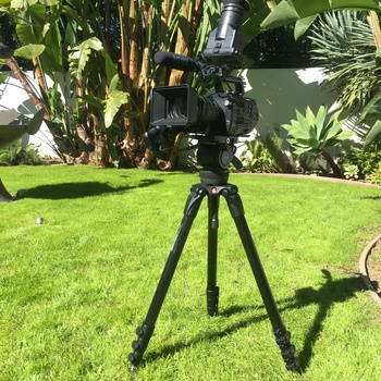 Rent Manfrotto 536 Pro Carbon Fiber Tripod