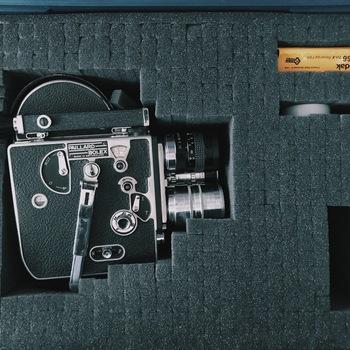 Rent Bolex H-16 16mm camera w/ 3 fast prime lenses 12,25,50 f/1.4