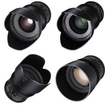 Rent Rokinon Cine DS - 5 Lens Kit for EF Mount