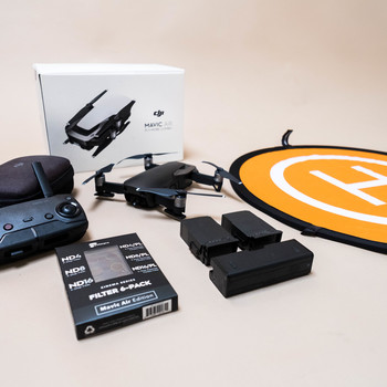 Rent DJI MAVIC AIR KIT (Fly More Package +ND Filters)