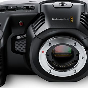 Rent Blackmagic Pocket Cinema Camera 4K