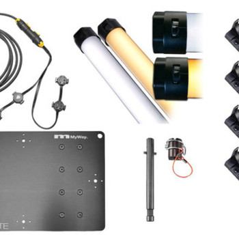 Rent 4 x 4' Quasar Science QLED Crossfade LED Tube Light Kit